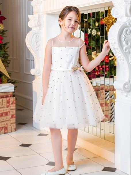 86091d360a35a27 Фото1: 589.43 Детские праздничные платья для девочек