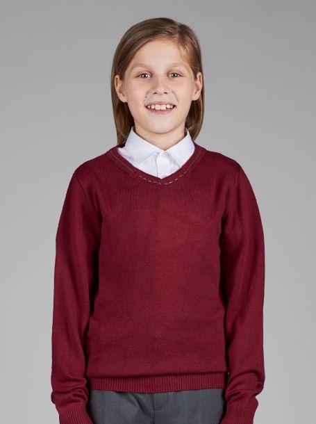 джемпер вязаный для мальчика стильный и модный свитер